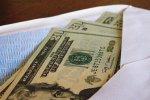 pieniądze w kopercie